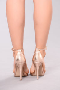 She's Even Better Heel  - Rose Gold