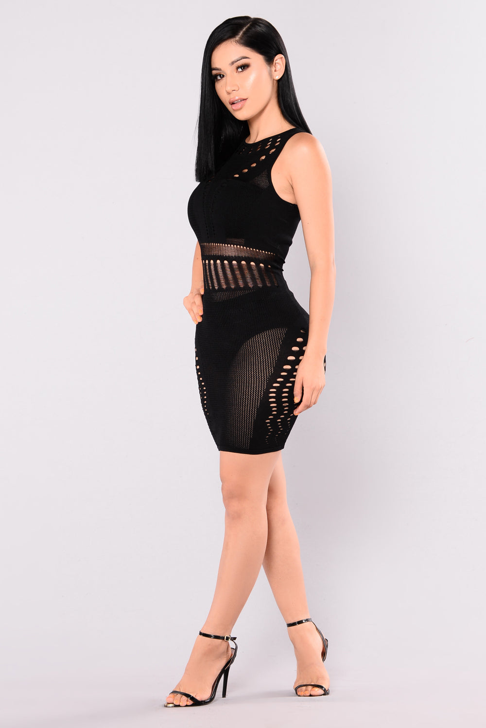 Coming Out Strong Dress - Black