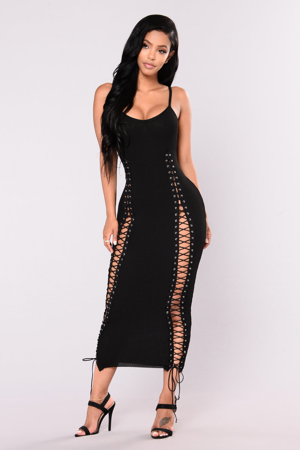 Temperance Knit Dress - Black
