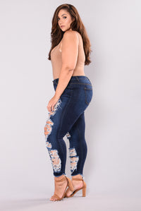 Sweet Trouble Jeans - Dark Wash