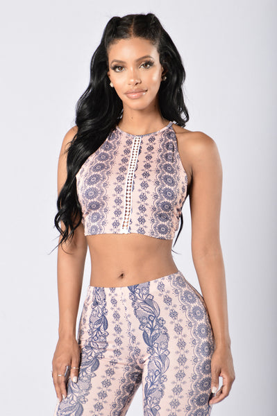 Gypsy Soul Top - Rose
