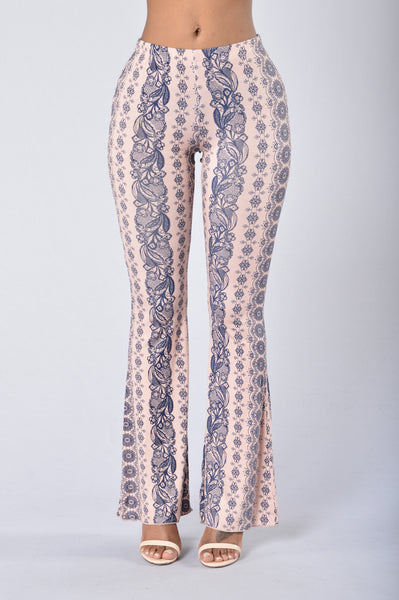 Gypsy Soul Pants - Rose