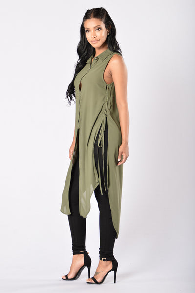 Jack of All Trades Top - Olive