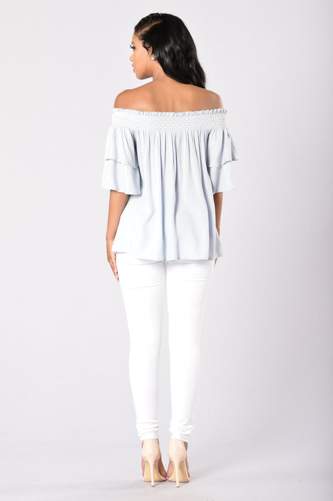 Tawni Top - Blue