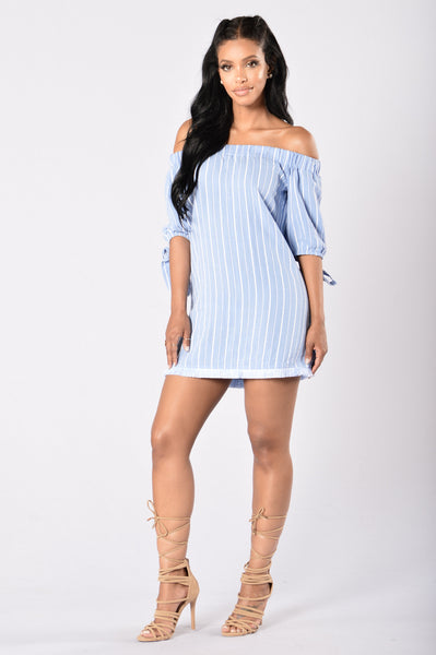 Kinzie Dress - Blue