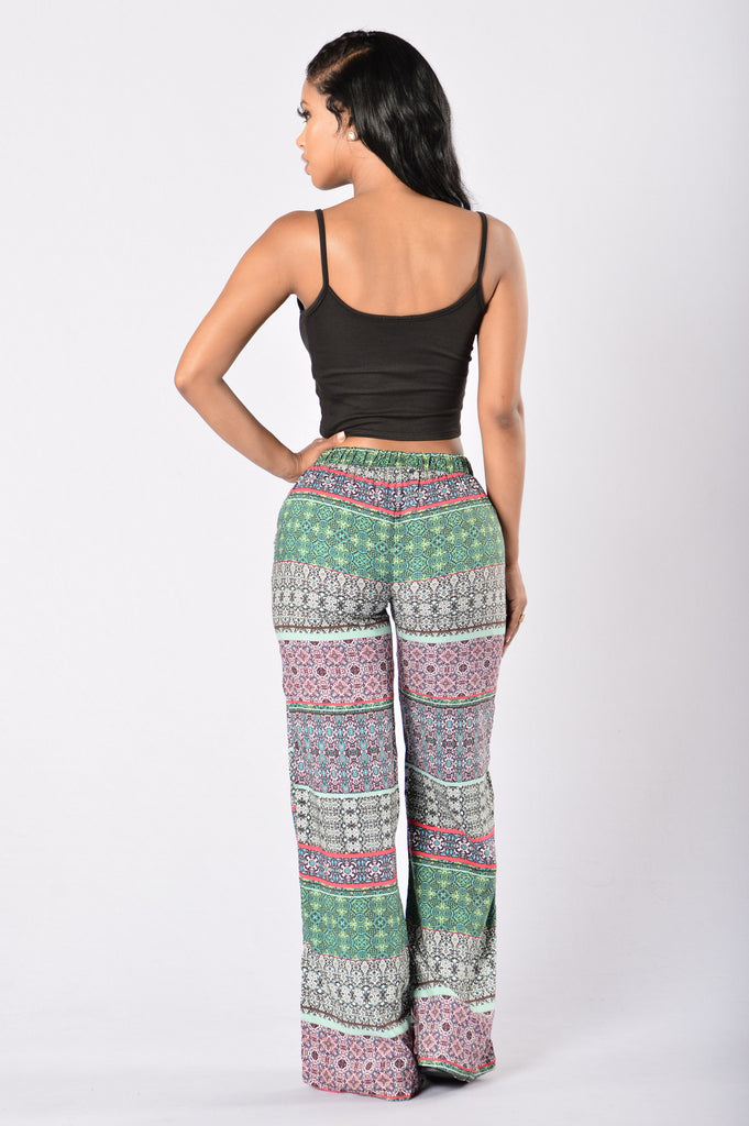 Island Girl Pants - Tangier Olive