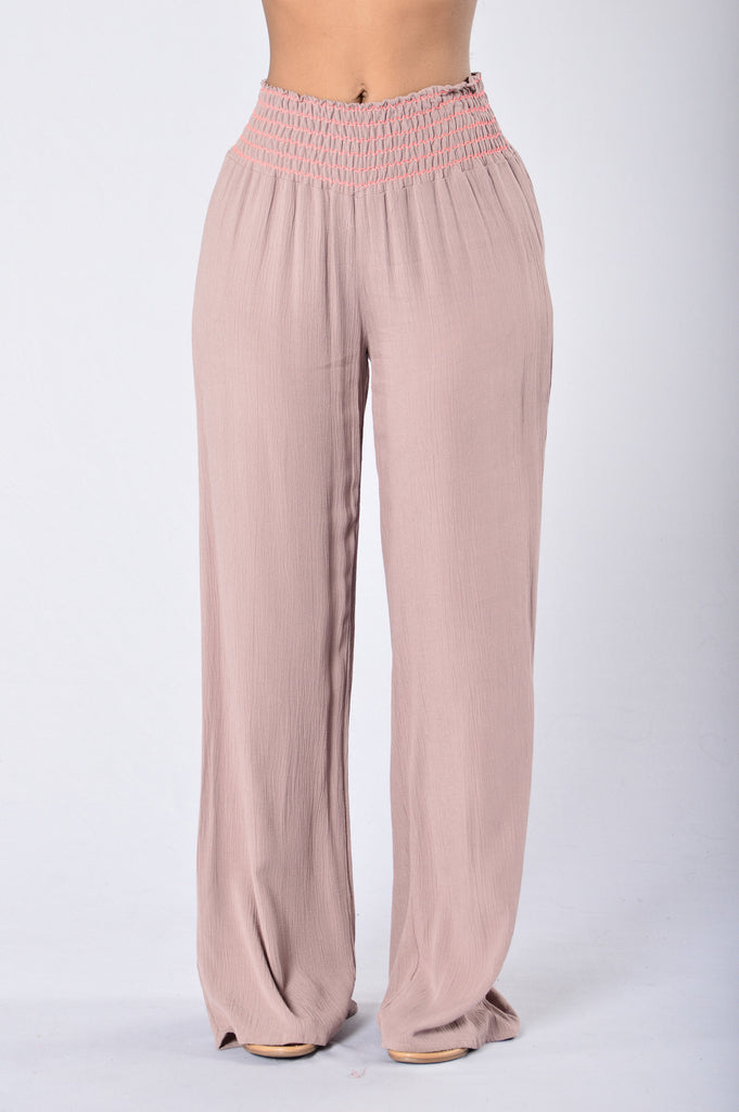 Easy Lazy Day Pants - Mauve