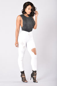 Let's Just Chill Bodysuit - Black