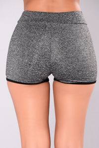 Always On The Move Shorts - Grey