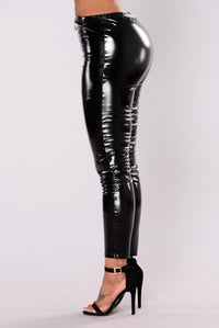 Leslie Skinny Leggings - Black