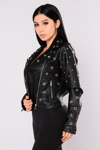 Guinness Moto Jacket - Black