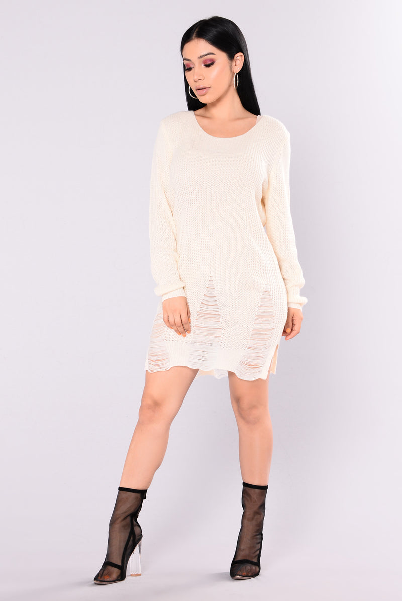 Larissa Tunic Sweater - Off White
