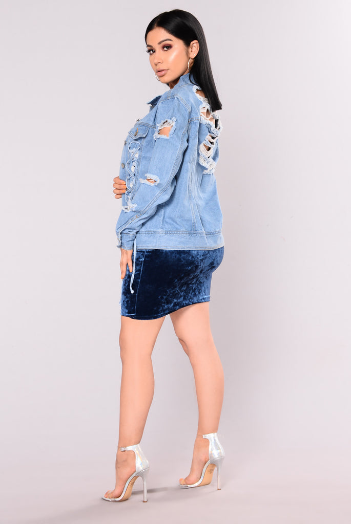 Casablanca Denim Jacket - Medium
