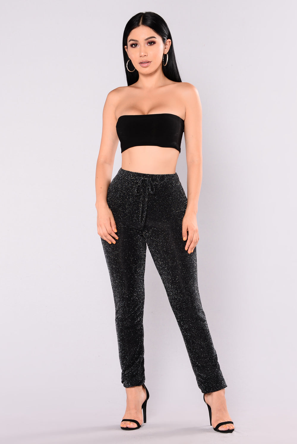 Pamela Pants - Black/Silver