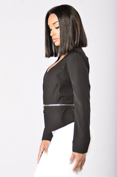 Strictly Business Jacket - Black