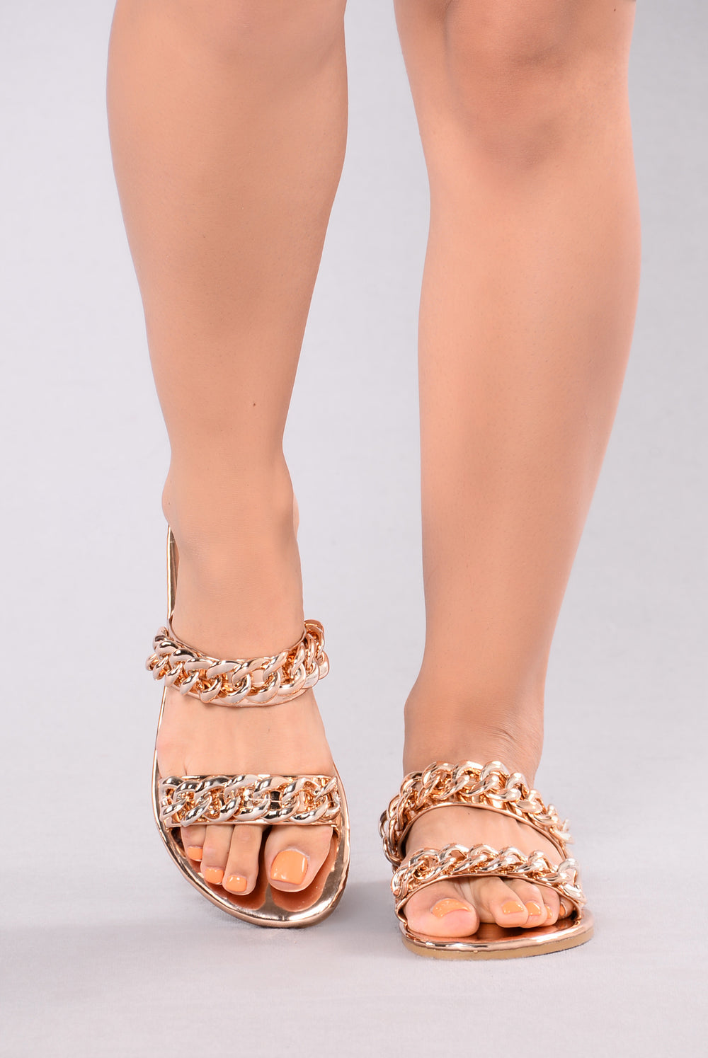 Leela Chain Slider - Rose Gold