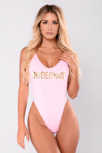 Bridesmaid Swimsuit - Pink