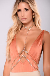 Eiffel Tower Body Chain - Gold