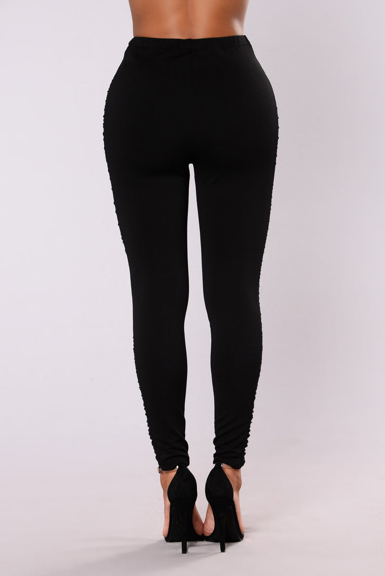 Tocaya Mesh Leggings - Black