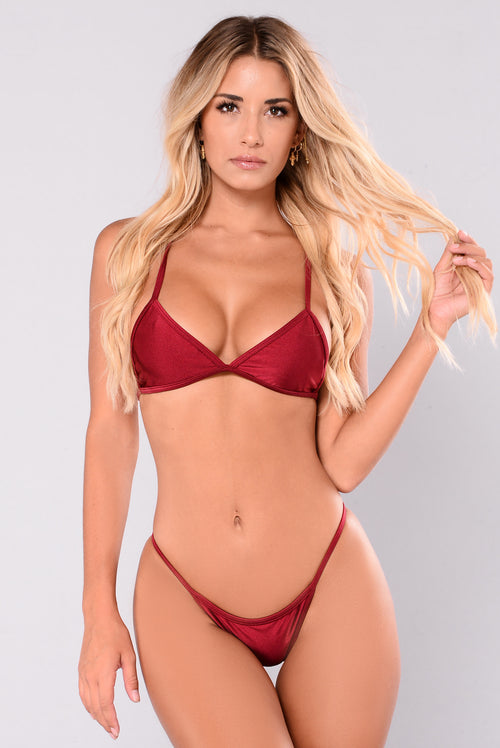 Itty Bitty Bikini - Red