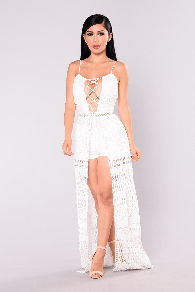 Eternal Youth Maxi Dress - Ivory