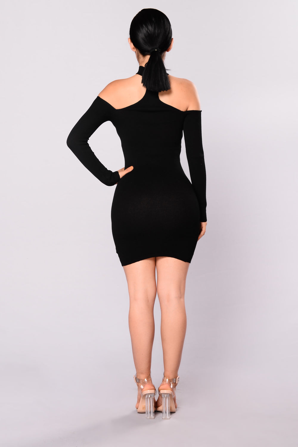 Liv Sweater Dress - Black