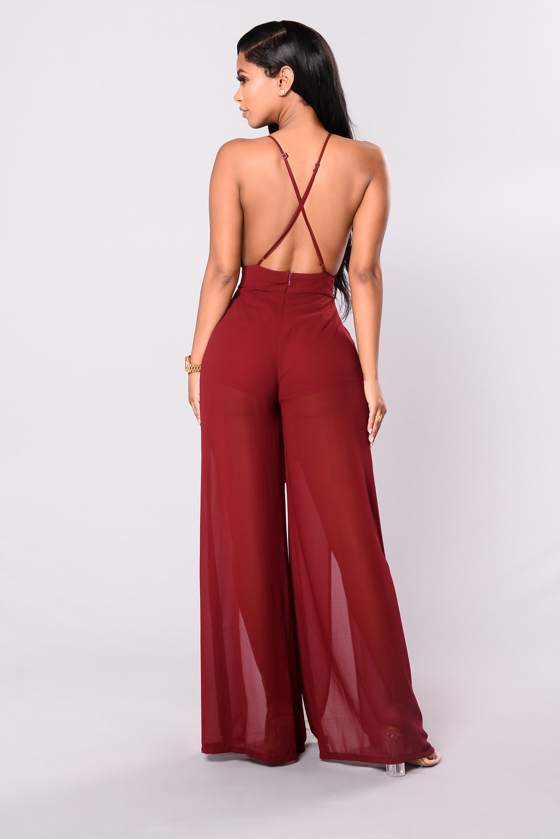 b13c0f778835 Chiffon jumpsuit fashion dresses jpg 1862x2786 Fashion nova burgundy  jumpsuit