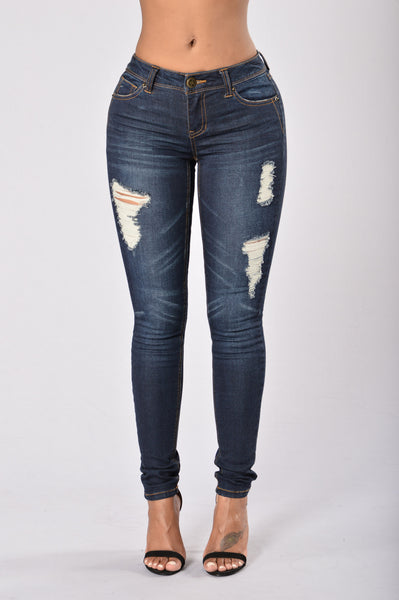 Dark Knight Skinny Jean - Dark Stone