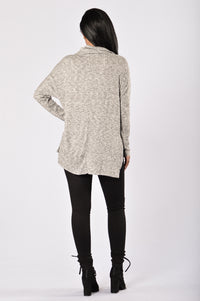 Wrapped Around You Sweater - Black