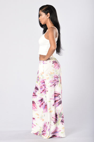 Fall in Floral Skirt - Bloom