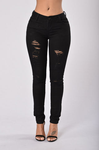 Concrete Jungle Pants - Black