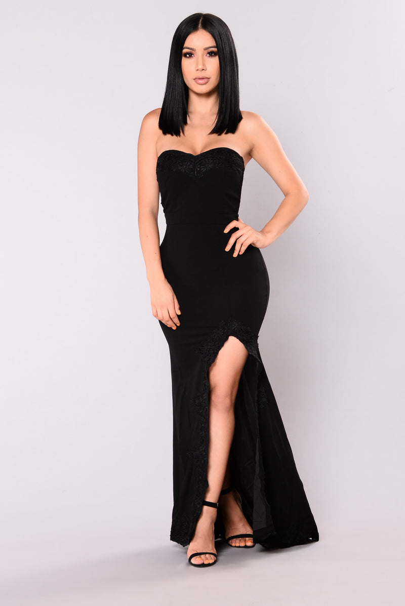 Shot At Love Maxi Dress - Black