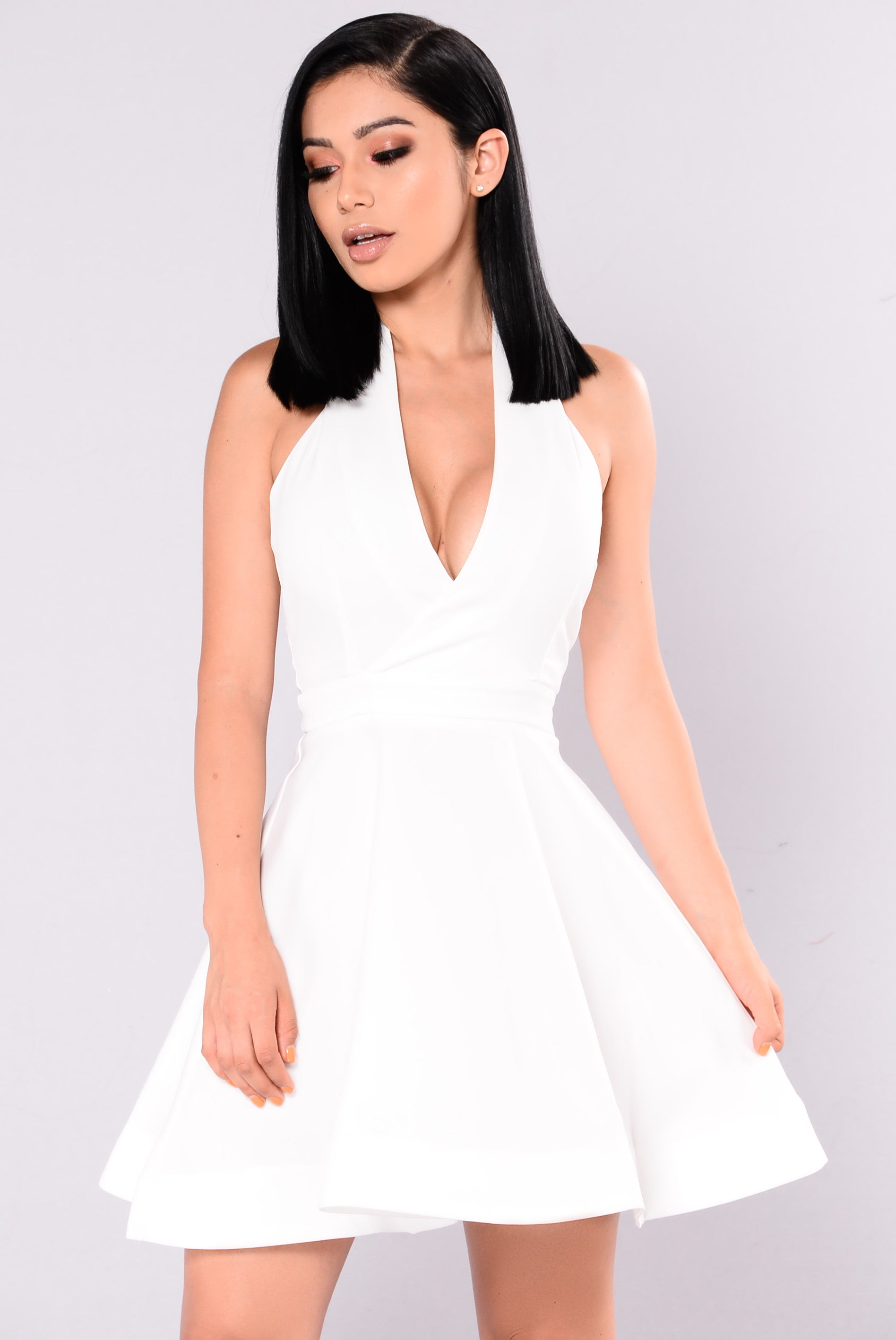 White skaters dress