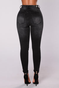 Willing To Wait Jeans - Black
