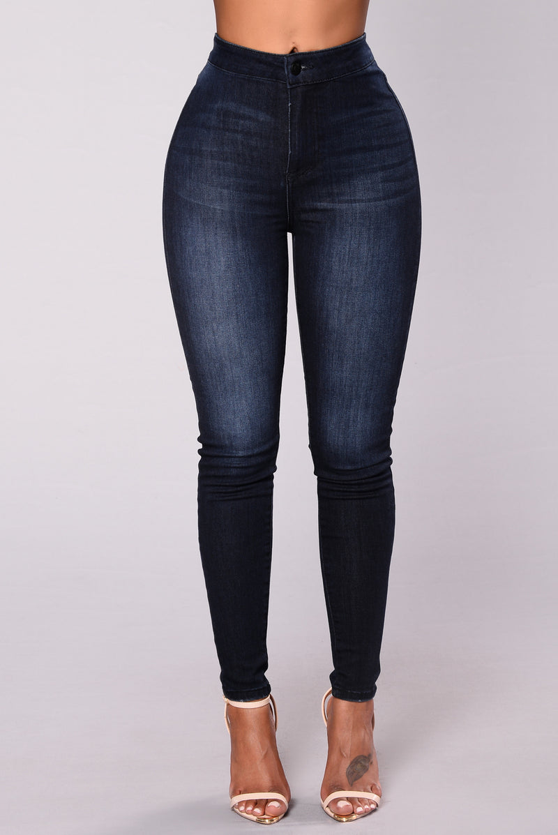 A Girl Like Me Jeans - Dark Denim