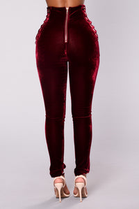 High Court Pants - Wine