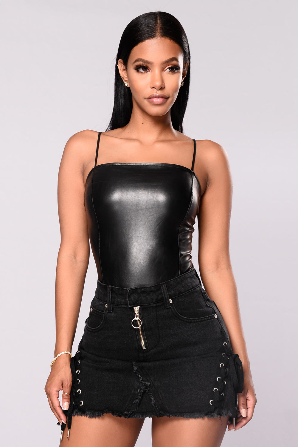 Philomina Bodysuit - Black