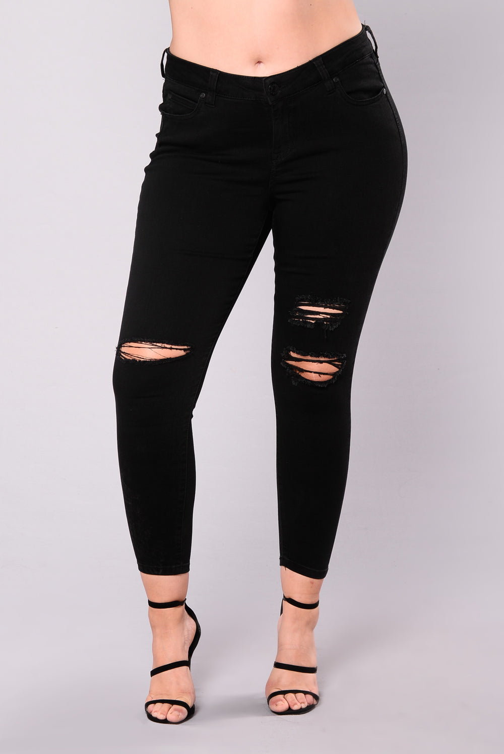 Don't Stop The Music Jeans - Black
