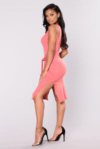 He Loves My Style II Dress - Ginger