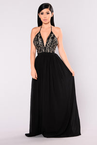 Emmy Maxi Dress - Black