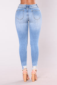 Edging Out Skinny Jeans - Medium