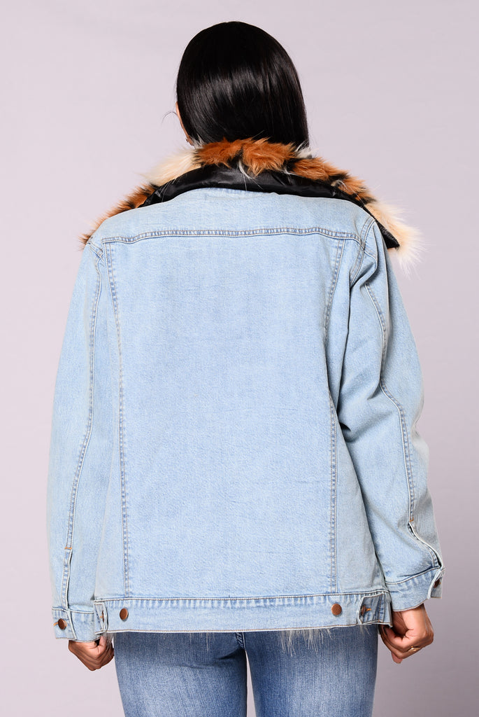 Saint Petersburg Denim Jacket - Denim