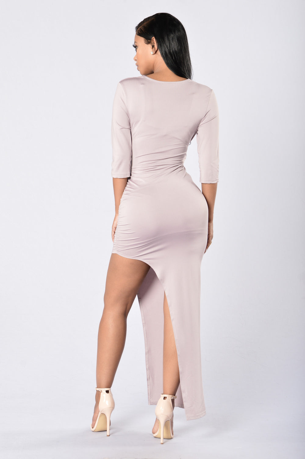Catch Them All Dress - Mauve