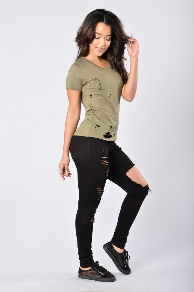 Rock Show Tee - Olive