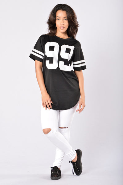 Hustle Tunic - Black