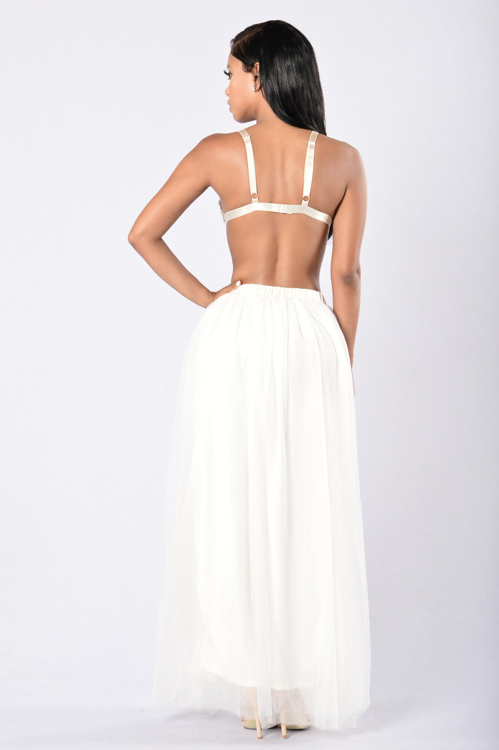 Ballerina at Heart Skirt - Off White