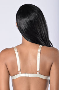 DNS- Always On Bralette - Taupe Angle 2