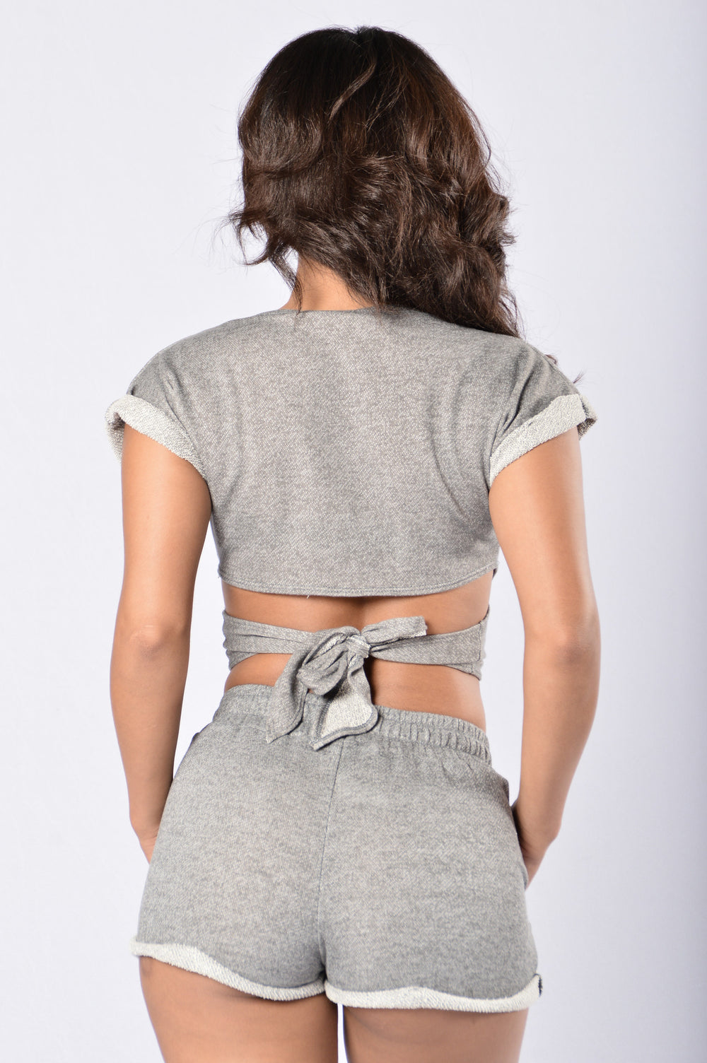 Keep It Real Top - Heather Grey