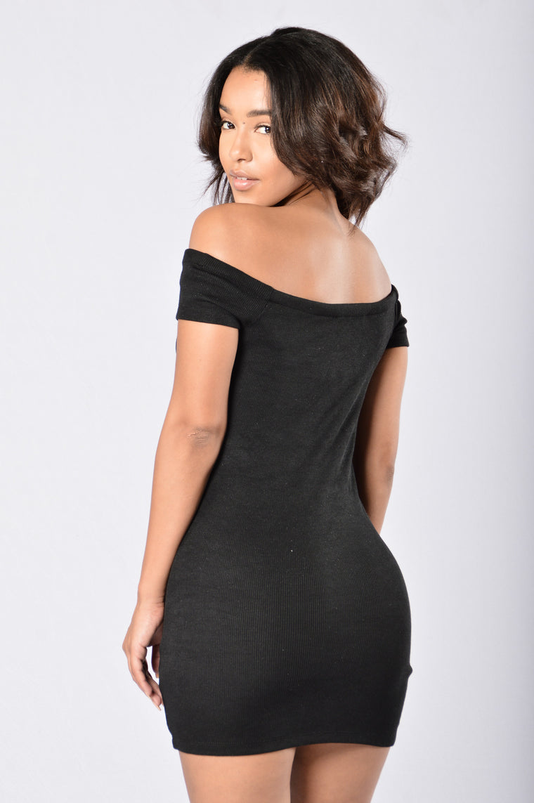 Easily The Best Dress - Black