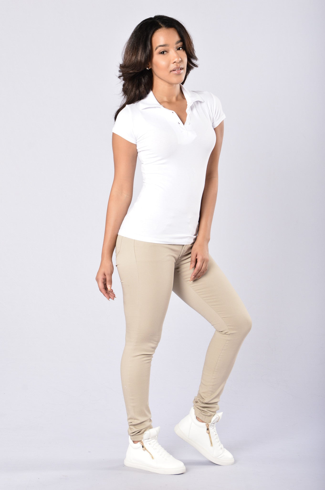 uniform pants - khaki